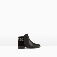 LEATHER BUCKLE ANKLE BOOTS-View all-SHOES-GIRL | 4-14 years-KIDS | ZARA United States