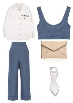 """Outfit Idea by Polyvore Remix"" by polyvore-remix ❤ liked on Polyvore featuring Alexander Wang, La Perla and Rebecca Minkoff"