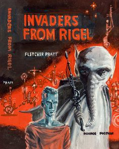 Invaders from Rigel, preliminary paperback cover, 1964 by Ed Emshwiller (EMSH) | by Tom Simpson