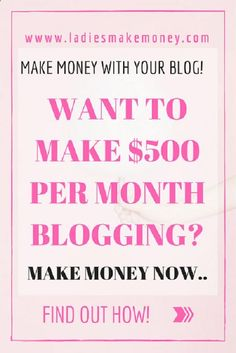 Want to make at least $500 per Month with your blog-Use Swagbucks to make money online by using online surveys