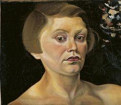 Elfriede Lohse-Wächtler: Selbstbildnis 1930/31