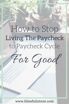 Are you sick of living paycheck to paycheck? Get out of the paycheck cycle for good and get your budget on track once and for all. Click here to read how I did it and how you can too.
