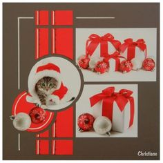 Azza scraps, chaton super craquant ! Scrapbooking Layouts, Scrapbook Pages, Christmas Scrapbook, Photo Layouts, Creative Memories, European Style, Homemade Cards, Scrapbooks, Photo Book