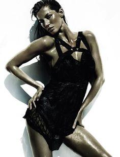 Gisele Bündchen por Mario Testino para Vogue Brasil