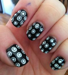 Black and white dotception!