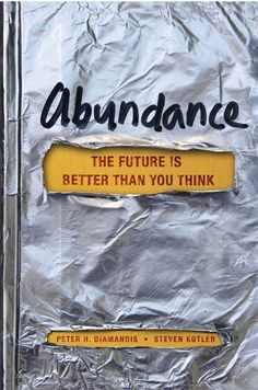 WOW - we are so close to our Tipping Point of radically almost everything - Abundance offers a Future Much Better than anyone us can imagine; turn off the news and read or listen to this book