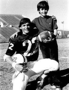 """Joey Cappelletti died of leukemia with his brother John (Heisman trophy winner) at his bedside. He was 13. Watch the movie """"Something for Joey."""" It'll bring you to tears."""