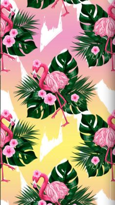 Cell Phones Effects Flamingo Wallpaper, Pretty Phone Wallpaper, Flowery Wallpaper, Matching Wallpaper, Summer Wallpaper, Love Wallpaper, Aesthetic Iphone Wallpaper, Mobile Wallpaper, Flamingo Clip Art