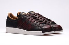 ADIDAS ORIGINALS SUPERSTAR 80S (NIGHT RED) | Sneaker Freaker