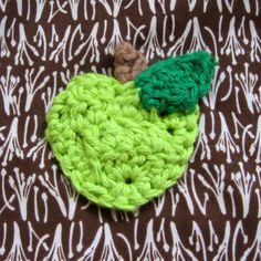 Free pattern for Granny Smith Appliqué. FREE PATTERN 5/14.