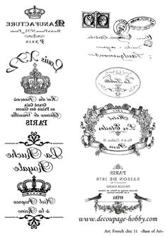1001 Character Quirks for Writing Fiction- I love this! It helps me create well-rounded characters! And once I know more about the characters, the plot seems to unfold by itself! Printable Labels, Printable Paper, Free Printables, Shabby Vintage, Vintage Paper, Vintage Roses, Foto Transfer Potch, French Typography, Etiquette Vintage