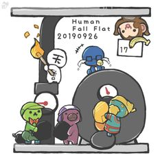 Human Fall Flat, Fall Flats, Anime Art, Twitter, Art Of Animation
