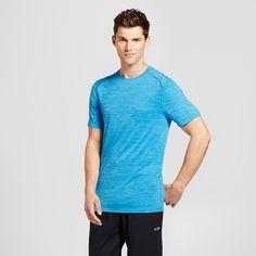 Men's Big & Tall Premium Tech T-Shirt - C9 Champion - Hydro Blue 3XBT, Size: 3XB Tall, Comfort Wear