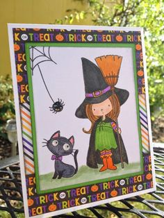 My Favorite Things -- Witch way is the Candy -- Posted on my blog:   http://melaniecreateswithpaper.blogspot.com/2014/09/witch-way-is-candy.html
