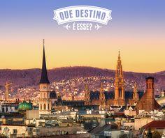 RESP - Viena - Austria - Nós queremos testar o conhecimento de vocês sobre destinos de viagens.   DICA - É a cidade cenário do filme sucesso dos anos 90 'Antes de amanhecer', estrelado por Ethan Hawke e Julie Delpy.  E aí, viajantes, que destino é esse? Gostou da brincadeira, compartilhe e teste os seus amigos.  http://clubeturismo.com.br/site/