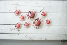 Metal Crab Wall Hanger - Large – Hearts Attic