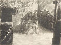 Reach, Zikmund - Grabmal Jehuda Ben Bezalel Loew (The Grave of Rabbi Loew), gelatin silver print