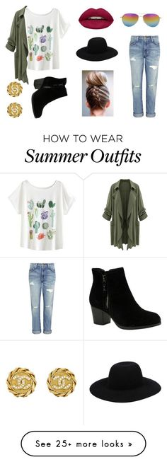 Summer Outfits : Summer/Fall outfit by hannah-cat on Polyvore featuring Current/Elliott Skeche