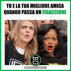 Tagga le tue amiche!#perfettamentebastardidentro #bastardidentro www.bastardidentro.it Really Funny, Funny Cute, Hilarious, Funny Shit, We Are Best Friends, Best Friends Forever, Funny Photos, My Photos, Serious Quotes