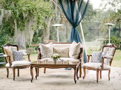 lounge area for garden wedding - Google Search