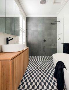 Popham Design Cheeky Hex encaustic tile