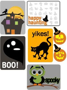 Hi, I promised more posts and freebies in my last posts, but as you can tell, I've been busy. Today, I have a project life freebie to shar. Scrapbooking Freebies, Pocket Scrapbooking, Project Life Album, Project Planner, Outdoor Halloween, Halloween Art, Mini Albums, Project Life Freebies, Planner Sheets