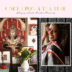 Had to share this with all of you. Many of you must be familiar with the visually stunning blog & magazine called Once Upon a Tea Time...D...