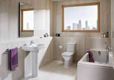 Roca Debba 4 piece pack with toilet seat White £340