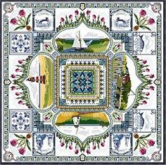 Châtelaine Designs chart - Holland Springtime. One  day I will stitch this!