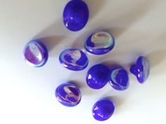 ¡Vendido! -  Lote de 6 antiguos botones de cristal años 20 a por MeAndTheMajor, €2.00