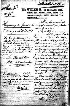 Onze grondwet 1814