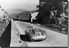 Targa Florio 1955  Mercedes 300SLR