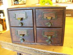 File Drawers Oak