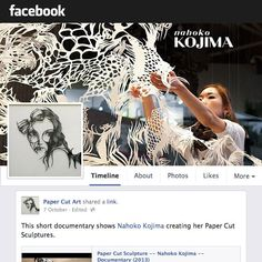 Paper Cut Art Community, for artists everywhere. The best selection of Papercut Art and Sculpture including Kirie, to inspire and educate. Overseen by leading Japanese Paper Cut Artist, Nahoko Kojima
