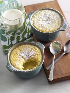 Lemon pudding