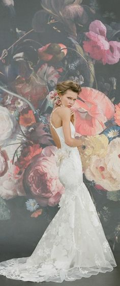 Claire Pettibone Mariposa wedding gown #StillLife photo Elizabeth Messina http://couture.clairepettibone.com/collections/continuing-collection/products/mariposa