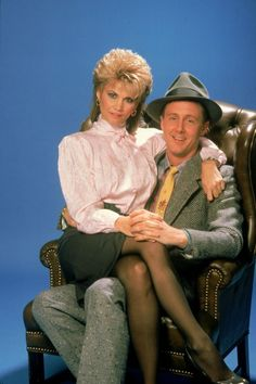 Markie Post ✾ and Harry Anderson on Night Court