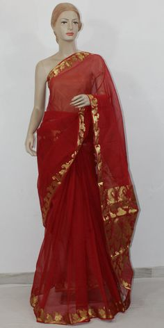 Buy Traditional Kota Cotton Saree Online : http://www.maanacreation.com/product-view/?id=2200 This saree is beautifully embellished with Zari Boder and Pallu to give it traditioanl and beautiful look. This Saree is worn by the ladies on all festive and religious occasions. After each wash and Charak Polish, you will found it as good as new.
