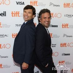 Michael Rezendes (L) is playe... | Celebrities | FirstLook Celebrity Photos