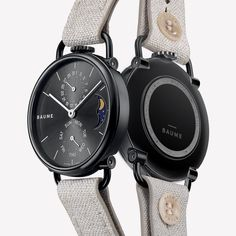 Discover Baume Watches : a unique experience to design your own custom watch. We create eco-friendly watches with minimalist design paired with quality. Communication Methods, French Signs, Tomorrow Will Be Better, Moon Phases, Make Time, Smart Watch, Watches For Men, Smartwatch, Top Mens Watches