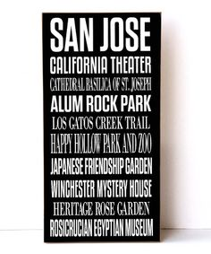 Loving this San Jose Subway Wall Sign on #zulily! #zulilyfinds