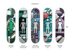 Girl Skateboards - framework series 2015