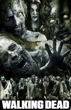 The Walking Dead Poster ~ Walkers