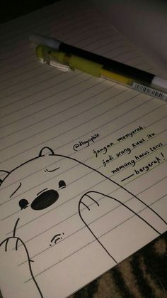 We bare bears Tumblr Quotes, Text Quotes, Mood Quotes, Life Quotes, Qoutes, Quotes Lucu, Quotes Galau, Reminder Quotes, Self Reminder