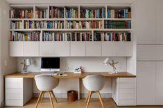 Ambiance Scandinave - Scandinavian - Home Office & Library - Paris - by Murs et Merveilles Home Office Setup, Home Office Space, Home Office Design, Home Interior Design, Office Designs, Office Ideas, Paris Home, Flur Design, Small Home Offices