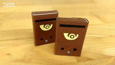 Mini postaláda gyufásdobozból - Kreatív ötlet