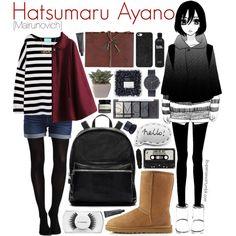 Hatsumaru Ayano [Mairunovich] by ibuperisesat on Polyvore featuring Chicnova Fashion, SPANX, VILA, UGG Australia,…