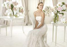 Pronovias te presenta el vestido de novia Silaba. Fashion 2013.   Pronovias