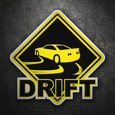Pegatinas: Drift TeleAdhesivo #coche #pegatina #sticker