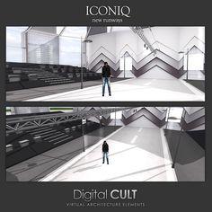"Digital CULT: VIRTUAL Reality LAB --- here are some new CUSTOM Buildings ---------> ""three Runways for ICONIQ"" <------------  Custom Buildings: http://news.mydigitalcult.com/custom.html  Blog: http://mydigitalcult.blogspot.it/  SL SHOWROOM http://maps.secondlife.com/secondlife/New%20ITLAND/121/140/32"